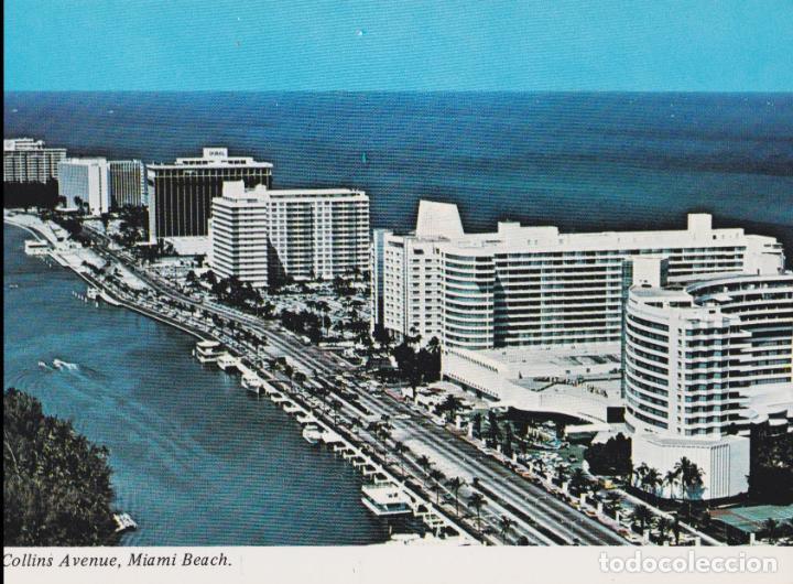 AMERICA, FLORIDA, MIAMI, COLLINS AVENUE - CD209 - S/C (Postales - Postales Extranjero - América)