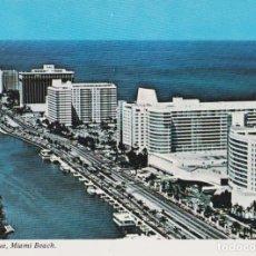 Postales: AMERICA, FLORIDA, MIAMI, COLLINS AVENUE - CD209 - S/C. Lote 219088817