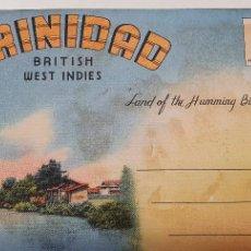 Postales: CUADERNO POSTALES TRINIDAD TOBAGO AÑOS 50. Lote 219094105
