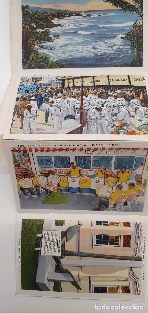 Postales: Cuaderno postales Trinidad Tobago años 50 - Foto 3 - 219094105