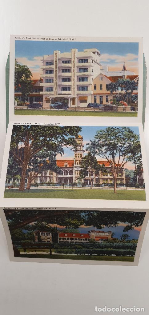 Postales: Cuaderno postales Trinidad Tobago años 50 - Foto 4 - 219094105
