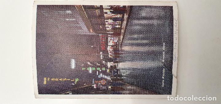 Postales: Tira con 10 postales Buenos Aires años 60. color - Foto 3 - 219102235