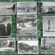 Postales: LOTE DE POSTALES EN BLANCO Y NEGRO - CHILE Y BRASIL - FOTO MORA - FOTO COLOMBO. COLECCIONISTA. Lote 220086872