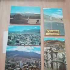 Postales: POSTALES DE ECUADOR 14 UDS AÑOS 70. Lote 220184567