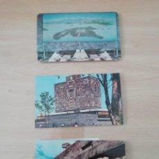 Postales: POSTALES DE MÉJICO AÑOS 70 (6 UDS). Lote 220184772