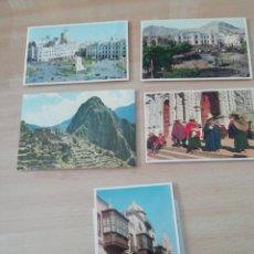 Postales: POSTALES DE PERÚ (10 UDS) AÑOS 70 CUZCO Y LIMA. Lote 220185086