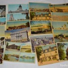 Postales: LOTE 20 POSTALES ANTIGUAS / TODAS DE BUENOS AIRES / ARGENTINA - SIN CIRCULAR - ¡MIRA FOTOS/DETALLES!. Lote 220464847
