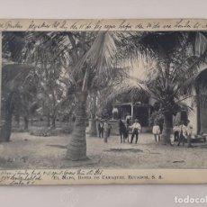 Postales: CARTA POSTAL DE ECUADOR ESCRITA, CON SELLO DE 1912. DIRIGIDA A BARCELONA.. Lote 220843018