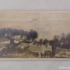 Postales: ANIGUA CARTA POSTAL DE EL MILAGRO EN MARACAIBO, VENEZUELA. CIRCULADA EN 1929.. Lote 220844456
