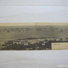 Postales: URUGUAY-MONTEVIDEO-POSTAL DOBLE PANORAMICA-REVERSO SIN DIVIDIR-VER FOTOS-(74.831). Lote 221610748