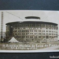 Postales: CUBA-ISLA DE PINOS-PRESIDIO MODELO-CARCEL-PRISION-FOTOGRAFICA-POSTAL ANTIGUA-VER FOTOS-(74.861). Lote 221615892