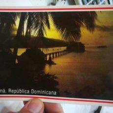 Postales: POSTAL SAMANÁ REPÚBLICA DOMINICANA AMANECER TROPICAL DOMINICANO S/C. Lote 221797810