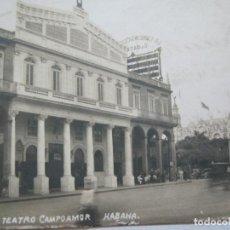 Postales: CUBA-HABANA-TEATRO CAMPOAMOR-FOTOGRAFICA-POSTAL ANTIGUA-VER FOTOS-(74.940). Lote 221821882