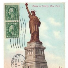 Postales: NEW YORK CITY (USA) - STATUE OF LIBERTY - 1913. Lote 221837057