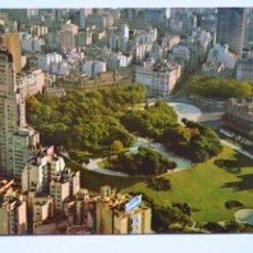 Postales: POSTAL. ARGENTINA. BUENOS AIRES. VISTA AÉREA DE LA PLAZA SAN MARTÍN. EDICOLOR. NO ESCRITA.. Lote 221882775