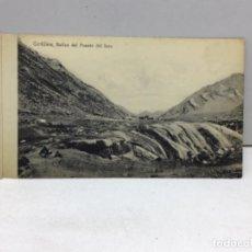 Postales: POSTAL DE CHILE - CORDILLERA BAÑOS DEL PUENTE DE INCA - VALPARAISO - C.KIRSINGER &CIA. Lote 222118887