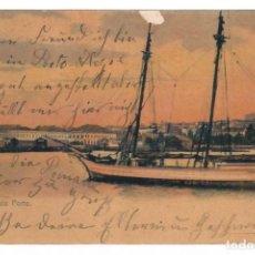 Postales: 1910 - PORTO ALEGRE (BRASIL) - VISTA PARCIAL DEL PUERTO. Lote 222181990