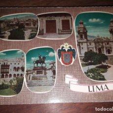 Postales: Nº 50157 POSTAL PERU LIMA. Lote 222191116