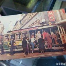 Postales: ANTIGUA POSTAL SAN FRANCISCO CALIFORNIA TRANVIA. Lote 222192483