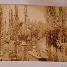 Cartoline: POSTAL XOCHIMILCO D.F. - MEXICO - HUGO BREHME. Lote 222262971