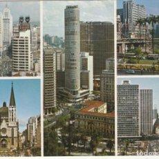 Postales: BRASIL TURISTICO VISTAS DE LA CIUDAD DE SAO PAOLO.SIN CIRCULAR. Lote 222674150
