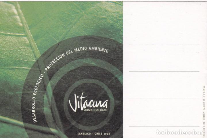 Postales: POSTAL VITACURA. SANTIAGO DE CHILE (CHILE) - DESARROLLO ECOLOGICO. PROTECCION DEL MEDIO AMBIENTE - Foto 2 - 222717486