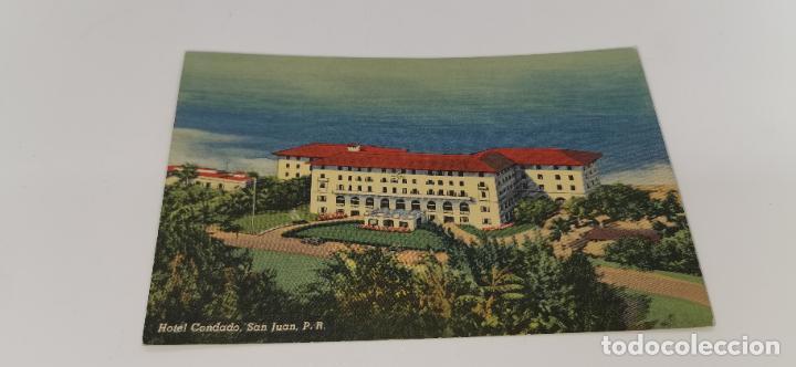 HOTEL CONDADO SAN JUAN, PUERTO RICO ORIGINAL VINTAGE POSTCARD SIN CIRCULAR (Postales - Postales Extranjero - América)