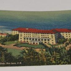 Postales: HOTEL CONDADO SAN JUAN, PUERTO RICO ORIGINAL VINTAGE POSTCARD SIN CIRCULAR. Lote 224741205