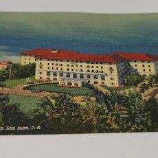 Postales: HOTEL CONDADO SAN JUAN, PUERTO RICO ORIGINAL VINTAGE POSTCARD SIN CIRCULAR. Lote 224741471