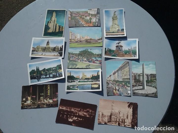 LOTE DE CATORCE POSTALES ANTIGUAS BUENOS AIRES ARGENTINA (Postales - Postales Extranjero - América)