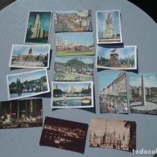 Postales: LOTE DE CATORCE POSTALES ANTIGUAS BUENOS AIRES ARGENTINA. Lote 226510965