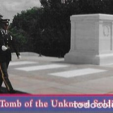Cartoline: POSTAL * ARLINGTON , TOMB OF THE UNKOWN SOLDIER *. Lote 228693615