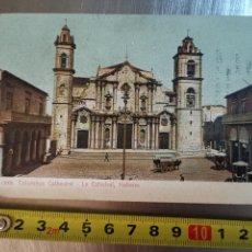 Postales: POSTAL UNIÓN POSTALE, COLUMBUS CATHEDRAL, LA HABANA,.E 12006. PROPAGANDA PICADURA FLOR DE MI VIDA. Lote 231577230