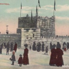 Postales: POSTAL CANADA - MONTREAL - ICE PALACE. Lote 234894895