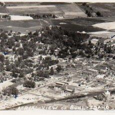 Postales: POSTAL DE USA - AERIAL VIEW OF BUHL - IDAHO. Lote 237059565