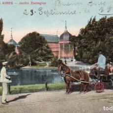 Postales: POSTAL DE BUENOS AIRES - JARDÍN ZOOLÓGICO - ARGENTINA. Lote 237147565