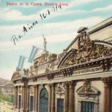 Postales: POSTAL DE BUENOS AIRES - TEATRO DE LA ÓPERA - ARGENTINA. Lote 237147695