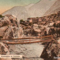 Postales: POSTAL DE MENDOZA - ALREDEDORES DE CACHEUTA - ARGENTINA. Lote 237148520