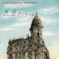 Postales: POSTAL DE BUENOS AIRES - LA CAJA INTERNACIONAL - ARGENTINA. Lote 237153720