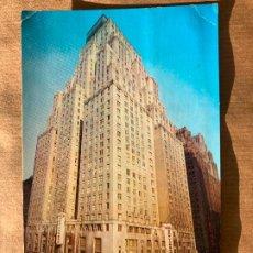 Postales: POSTAL NUEVA YORK 1963 PEDRO PERICO CHICOTE CAFE VICENTINO CEUTA. Lote 238269330