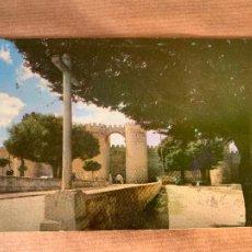 Postales: POSTAL PUERTA DE SAN VICENTE 1961 PARA EL CAFE VICENTINO DE CEUTA. Lote 238291290