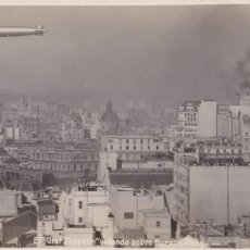 Cartes Postales: ARGENTINA, BUENOS AIRES, EL GRAF ZEPPELIN. ED. BOURQUIN & KOHLMANN. FOTOGRAFICA. Lote 238321000