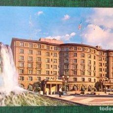 Postales: TARJETA POSTAL THE SHERATON PLAZA HOTEL, IN HISTORIC COPLEY SQUARE BOSTON. Lote 239688055