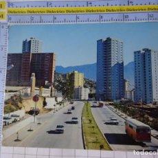 Postales: POSTAL DE VENEZUELA. CARACAS AVENIDA PRINCIPAL URBANIZACIÓN EL VALLE. AUTOBUSES. 610. Lote 240015250