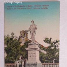 Postales: COLOMBIA - CARTAGENA - ESTATUA DE JOSÉ FERNANDEZ DE MADRID - P46877. Lote 243815690