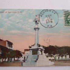 Postales: PUERTO RICO - SAN JUAN - PLAZA COLÓN - P46882. Lote 243816720
