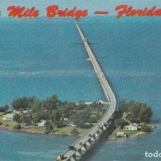 Postales: ESTADOS UNIDOS, FLORIDA, SEVEN MILE BRIDGE – ESCRITA. Lote 244749485