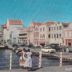 Postales: CARIBE, CURAÇAO, HANDELSKADE – PLASTICHROME P12251 – S/C. Lote 244750040