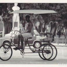 Postales: CUBA, BICITAXI - PHOTO BY JMC - ESCANDON IMPRESORES C023 - S/C - (16X11). Lote 245297580