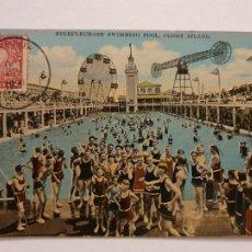 Postales: ESTADOS UNIDOS - NUEVA YORK - CONEY ISLAND - PISCINA - P47556. Lote 246020685